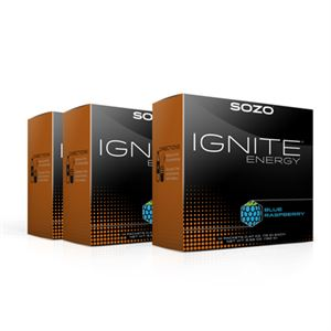 Picture of SOZO® Ignite Energy - Blue Raspberry (3 ct)